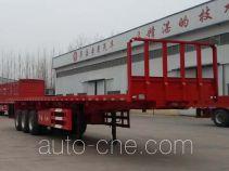 Huayuexing FNZ9402ZZXP flatbed dump trailer