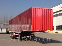 Huayuexing box body van trailer