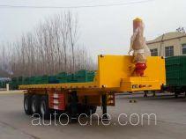 Huayuexing FNZ9403ZZXP flatbed dump trailer