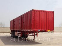 Huayuexing FNZ9404XXY box body van trailer