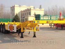华岳兴牌FNZ9406TJZ型集装箱运输半挂车