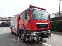 Fuqi (Fushun) FQZ5130TXFJY80/M fire rescue vehicle