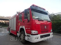 Fuqi (Fushun) FQZ5140TXFJY60/J fire rescue vehicle