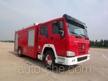 Fuqi (Fushun) FQZ5190GXFPM80 foam fire engine