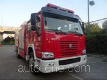 抚起牌FQZ5200GXFPM80/A型泡沫消防车