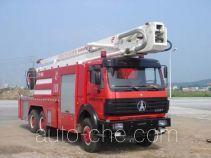 抚起牌FQZ5251JXFJP30型举高喷射消防车
