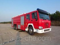 抚起牌FQZ5280GXFPM120型泡沫消防车
