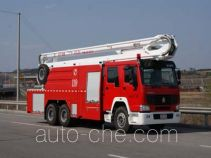 抚起牌FQZ5320JXFJP26型举高喷射消防车