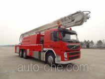 抚起牌FQZ5340JXFJP40/B型举高喷射消防车