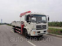 胜工牌FRT5160JSQ5型随车起重运输车
