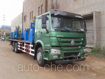 Freet Shenggong FRT5250TJGG5 oil well pipe transport truck