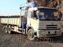 扶桑牌FS5253JSQQD型随车起重运输车