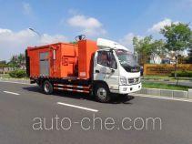 英达牌FTT5100TXBPM22V型沥青路面热再生修补车