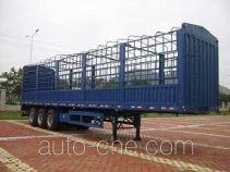 泰华牌FTW9380CLX型仓栅式运输半挂车