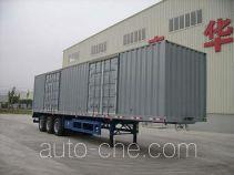 泰华牌FTW9390XXY型厢式运输半挂车