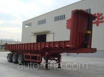 泰华牌FTW9390ZZX型自卸半挂车