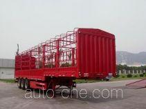 大力士牌FTW9400CLX型仓栅式运输半挂车
