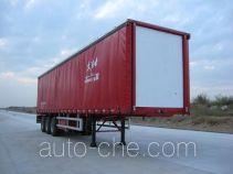 泰华牌FTW9400XXY型厢式运输半挂车