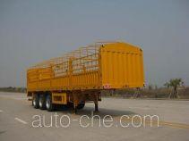 大力士牌FTW9401CLX型仓栅式运输半挂车
