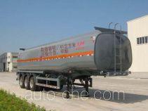 大力士牌FTW9401GRY型易燃液体罐式运输半挂车