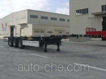 Dalishi telescopic container transport trailer