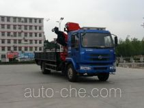 凌扬牌FXB5168JSQLZ型随车起重运输车