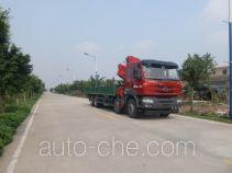 凌扬牌FXB5310JSQQH7型随车起重运输车