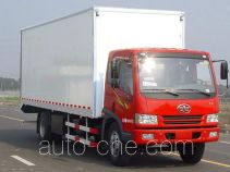 FAW Fenghuang FXC5165XBWP9L3E insulated box van truck