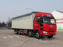 FAW Fenghuang soft top box van truck