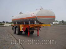 FAW Fenghuang FXC9202GHY chemical liquid tank trailer