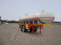 FAW Fenghuang FXC9231GHY chemical liquid tank trailer