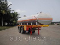 FAW Fenghuang FXC9270GHY chemical liquid tank trailer