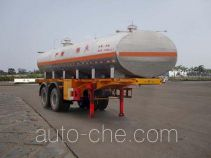 FAW Fenghuang FXC9271GHY chemical liquid tank trailer