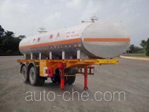 FAW Fenghuang FXC9300GHY chemical liquid tank trailer