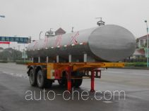FAW Fenghuang FXC9232GHY chemical liquid tank trailer