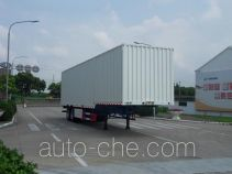 FAW Fenghuang FXC9351XXY box body van trailer