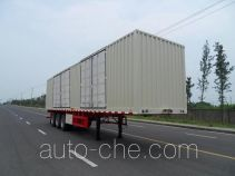 FAW Fenghuang FXC9380XXY box body van trailer
