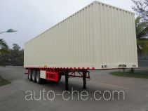 FAW Fenghuang FXC9401XXY box body van trailer