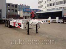 Fengyuan Zhongba FYK9401TJZ container transport trailer