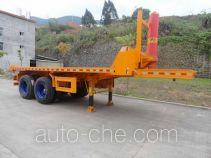 Shuangyalong FYL9350ZZXP flatbed dump trailer