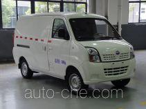 福达牌FZ5025XXYBEV型纯电动厢式运输车