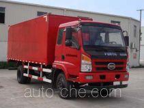 福达(FORTA)牌FZ5060XXY-E41型厢式运输车