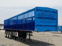 承威牌GCW9400CCY型仓栅式运输半挂车