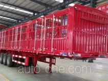 承威牌GCW9403CCY型仓栅式运输半挂车