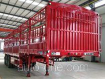 承威牌GCW9404CCY型仓栅式运输半挂车