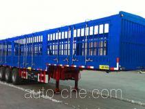 承威牌GCW9405CCY型仓栅式运输半挂车