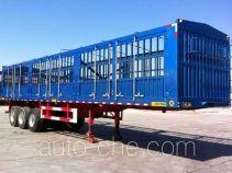 承威牌GCW9407CCY型仓栅式运输半挂车