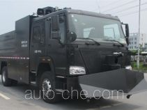 Anti-riot police water cannon truck