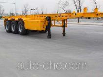 Gudemei GDM9401TWY dangerous goods tank container skeletal trailer