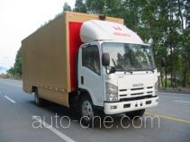 Shangyuan GDY5081XWTQM mobile stage van truck